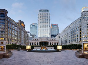 Canada Square, Canary Wharf, London
