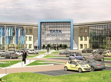 New TATA Technologies Headquarters, Leamington Spa